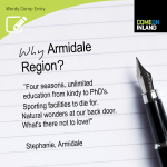 Armidale Words Competition entry from Stephanie