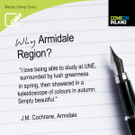 Armidale Words Competition entry from J.M Cochrane
