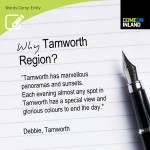 Tamworth Words Competition entry from Debbie