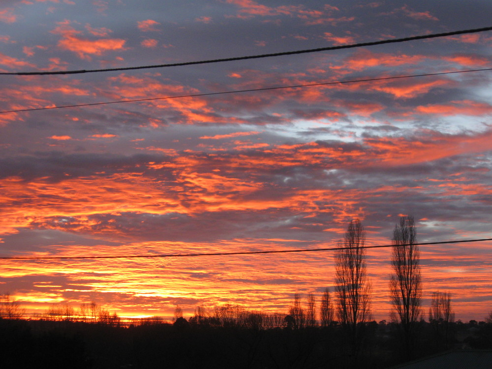 Tenterfield Photo competition entry - Tenterfield Sunrise