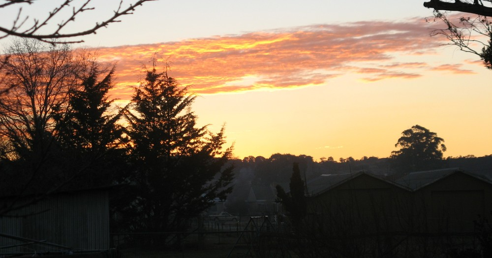 Tenterfield Photo competition entry - Tenterfield Sunset