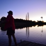 photo competition entry titled trout fishing in guyra