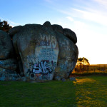 Thunderbolts Rock, by Jess, from Uralla