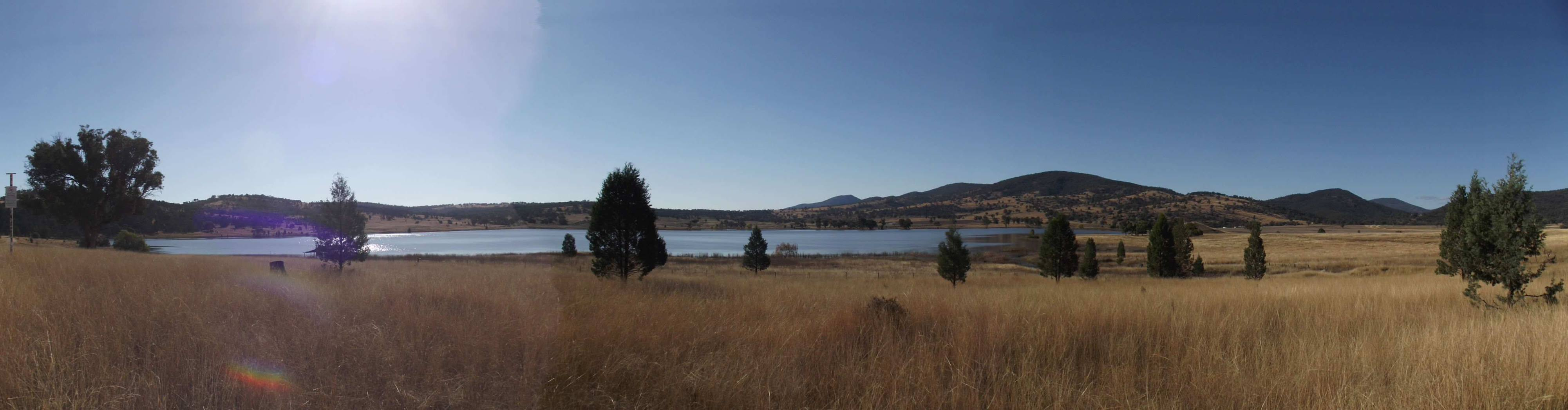 Quipoly Dam, by Gordon, from Liverpool Plains Shire